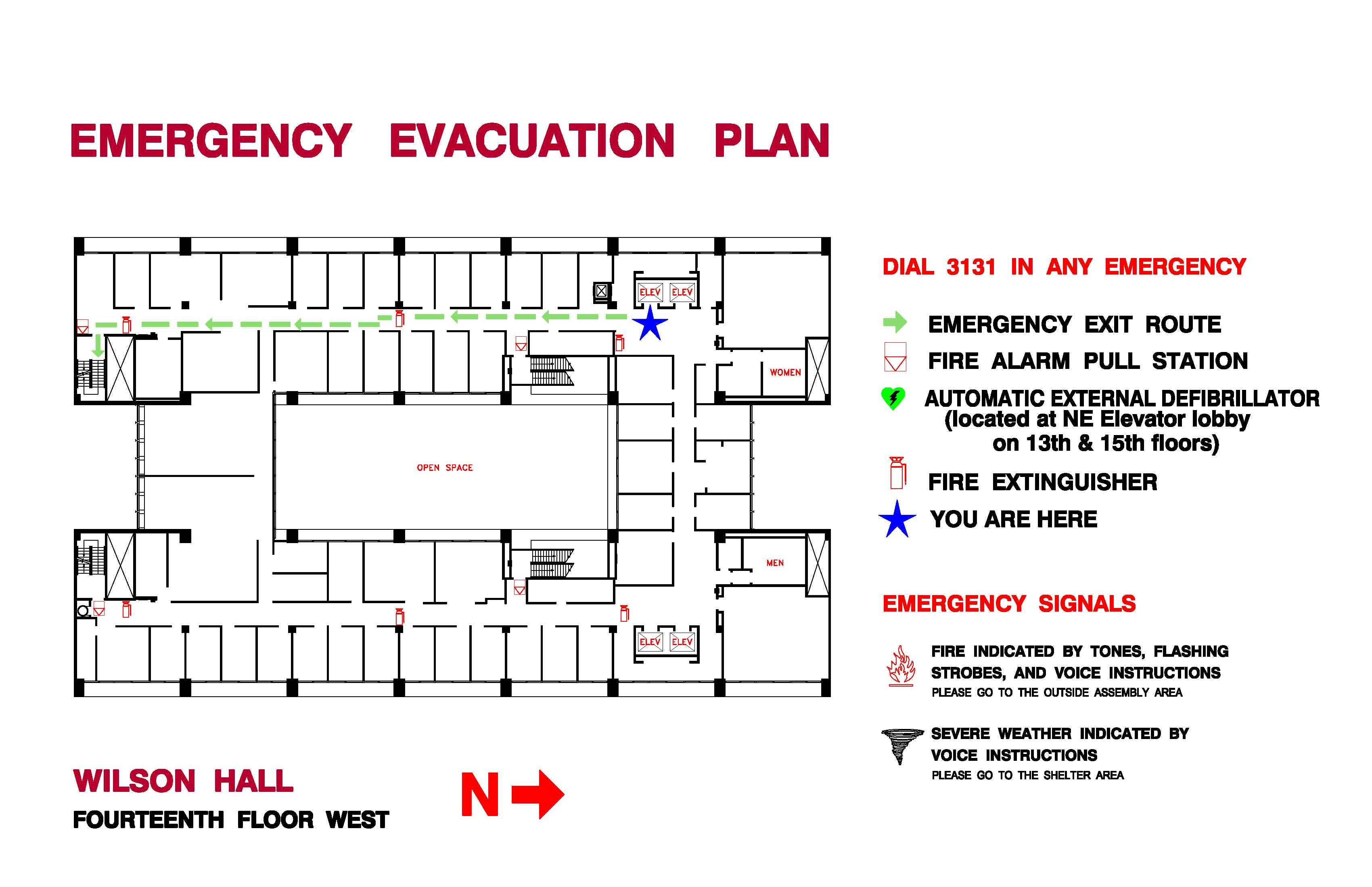 Medical office evacuation plan images for Fire plans